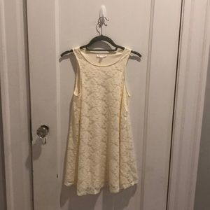 White lace dress from Socialite
